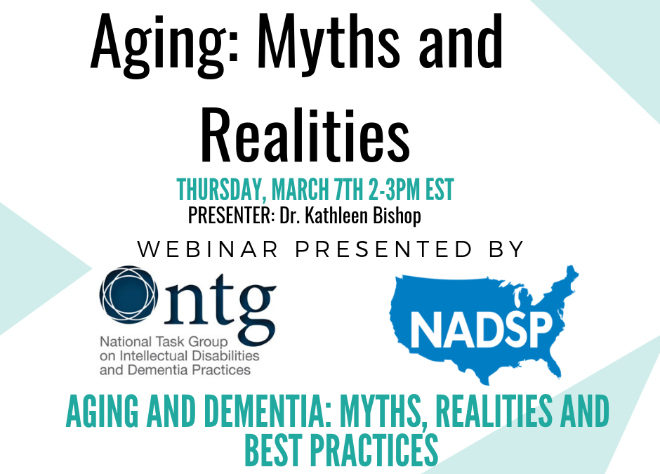 WEBINAR: Aging: Myths and Realities