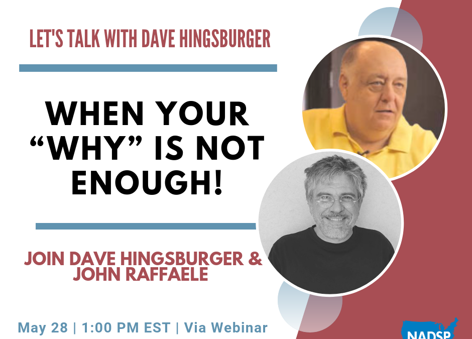 """WEBINAR: Let's Talk with Dave Hingsburger: When Your """"WHY"""" Is Not Enough!"""