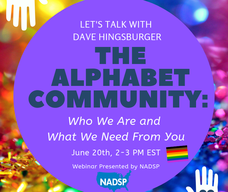 Webinar: The Alphabet Community: Who We Are and What We Need From You