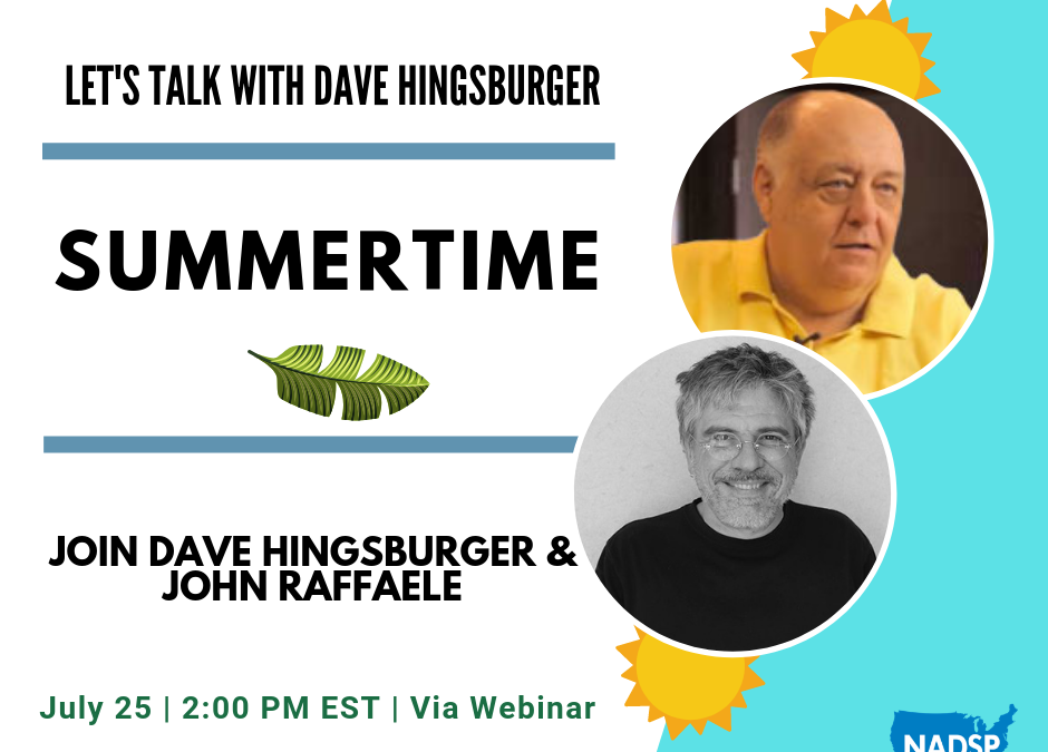 Let's Talk with Dave: Summertime